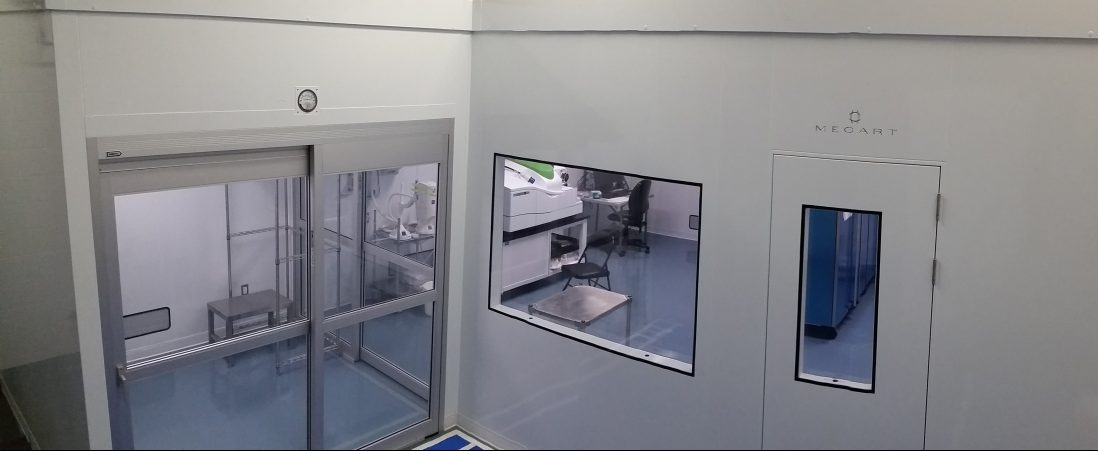 ISO 7 Chemical Analysis Cleanroom