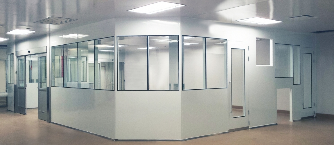 pharmaceutical clean room modular