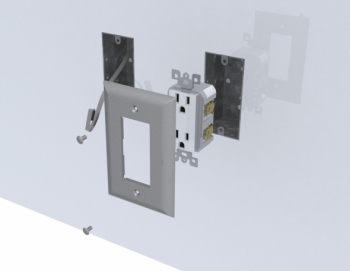 cleanroom modular integrated utilities electricity panel