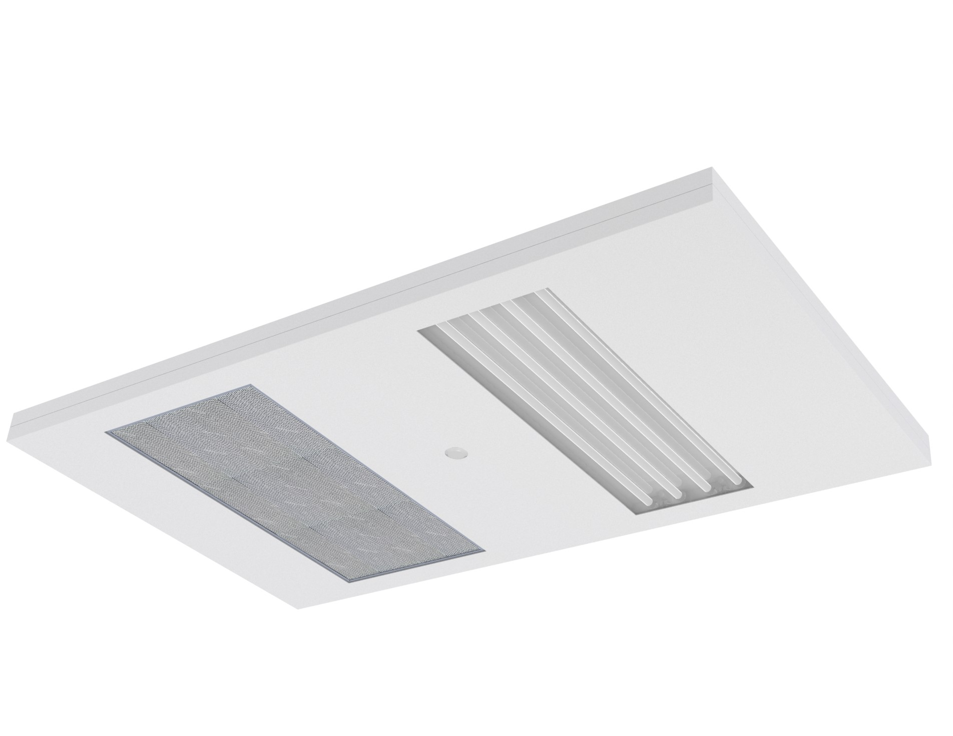 ceiling panel for modular cleanroom