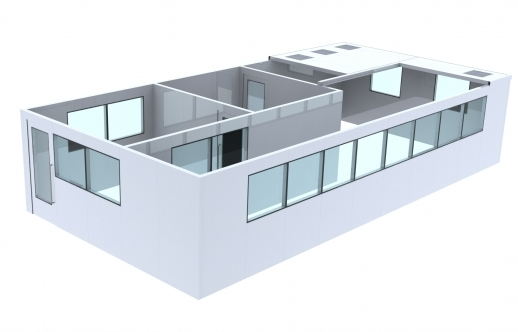 modular cleanrooms design engineering manufacturing installation
