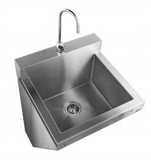 touchless sink stainless steel cleanroom