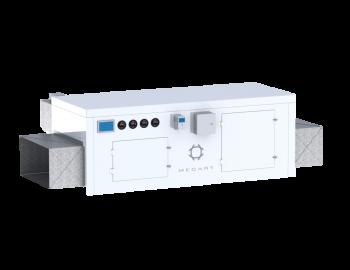 mecart hvac air handling unit for cleanroom