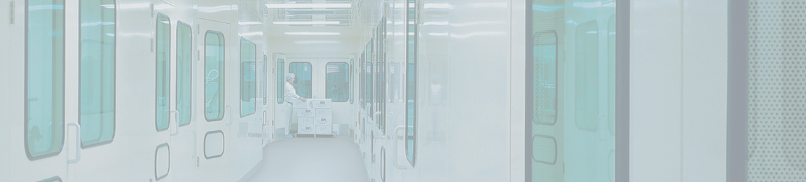 cleanroom laboratory green windows