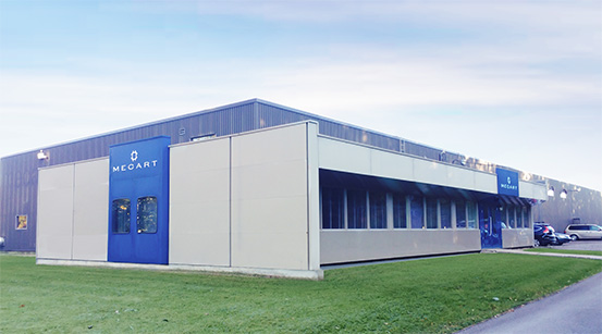 Mecart main office and plant in Saint-Augustin-de-Desmaures