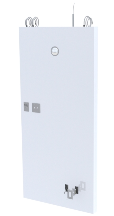 utilities integration electricity panel cleanroom modular