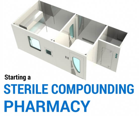 starting a sterile compounding pharmacy cleanroom