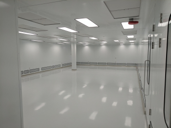 Inside view of a cleanroom