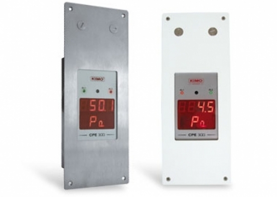 Cleanroom Panel mounted monitoring system