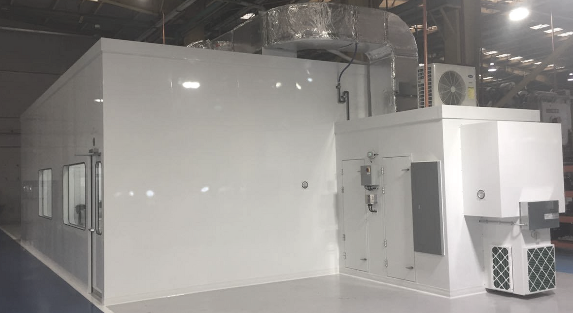cleanroom and hvac system mecart