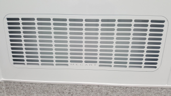 full flush low air return grille cleanroom mecart_1000