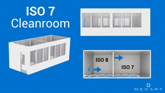 ISO 7 clean room layout