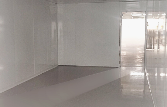 550 x 354 - ISO 7 CLEANROOM FOR ELECTRONIC COMPONENT PRODUCTION
