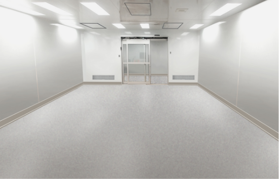 550 x 354 - ISO 7 CLEANROOM FOR ELECTRONIC COMPONENT PRODUCTION - Main picture
