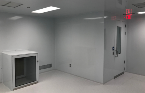 Cell Processing Lab - 550 x 354 - Exit Door - Passtrough