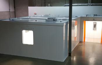 prefab isolation room