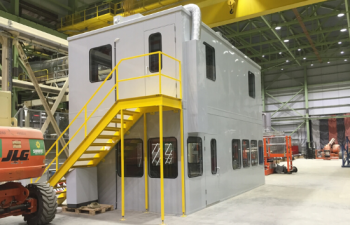 two stories cleanroom
