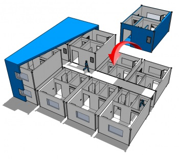 negative pressure isolation room hospital mecart covid 19