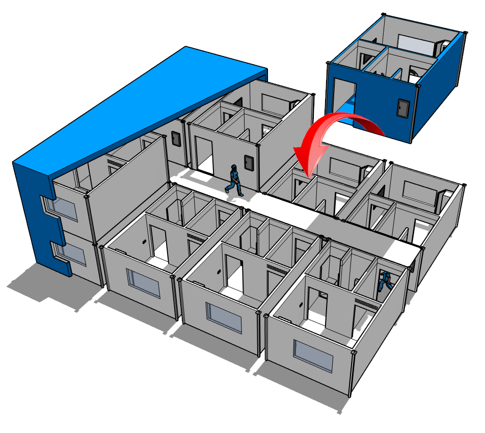 Isolation Rooms for Hospitals (COVID-19) | Mecart