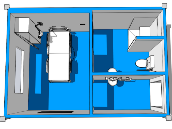 Isolation Rooms - Cleanrooms - 600 x 450