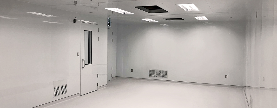 Biotech - Cell production room 1150 x 450 px