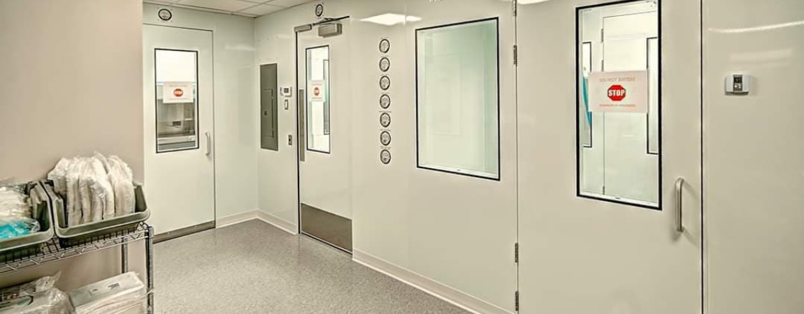 Clinical Trial Cleanroom
