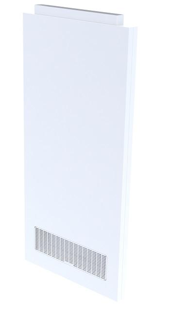 air return panel cleanroom modular