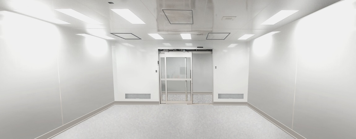 1150 x 450 _ ISO 7 CLEANROOM FOR ELECTRONIC COMPONENT PRODUCTION
