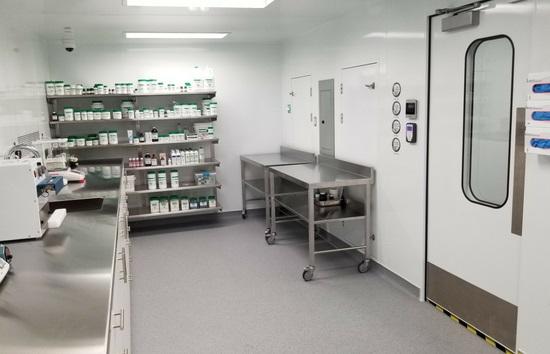 usp 800 cleanroom pharmacy