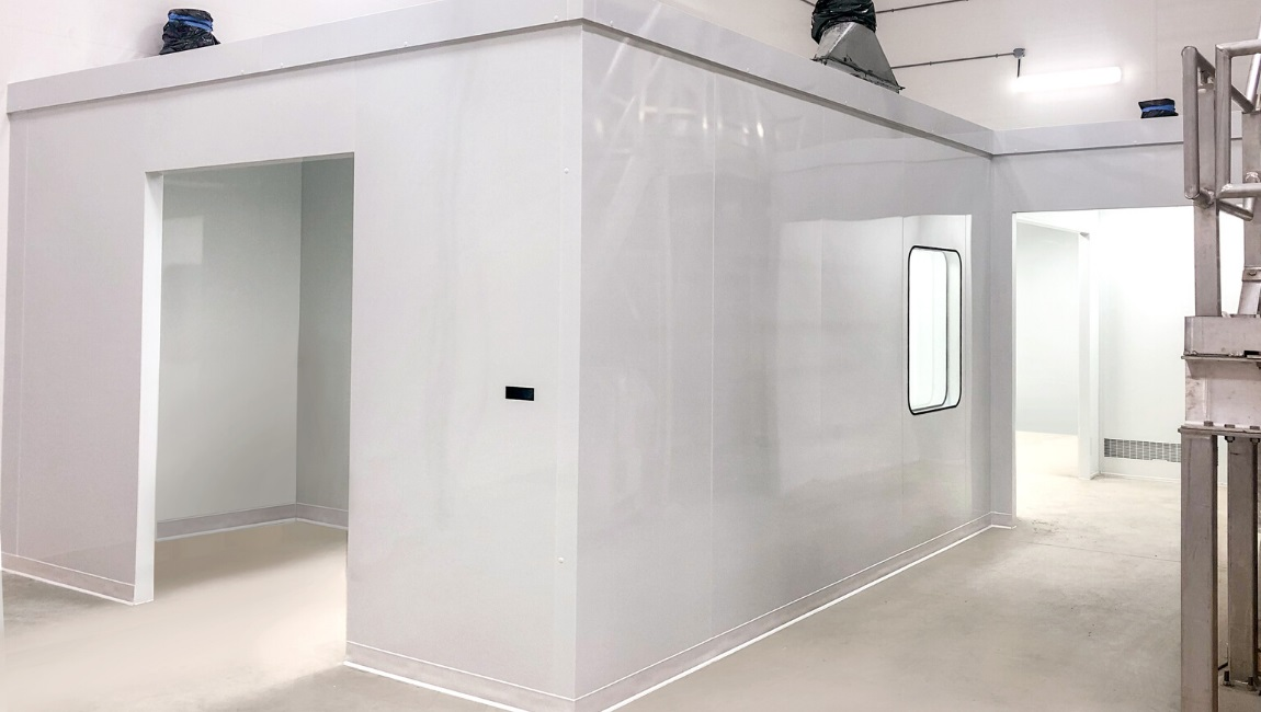 ISO 7 Cleanroom for Nutraceutical Industry - 1150 x 600