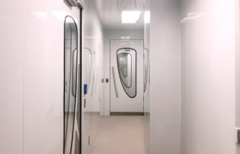 ISO 7 Cleanroom for Nutraceutical Industry - 550 x 354 - doors