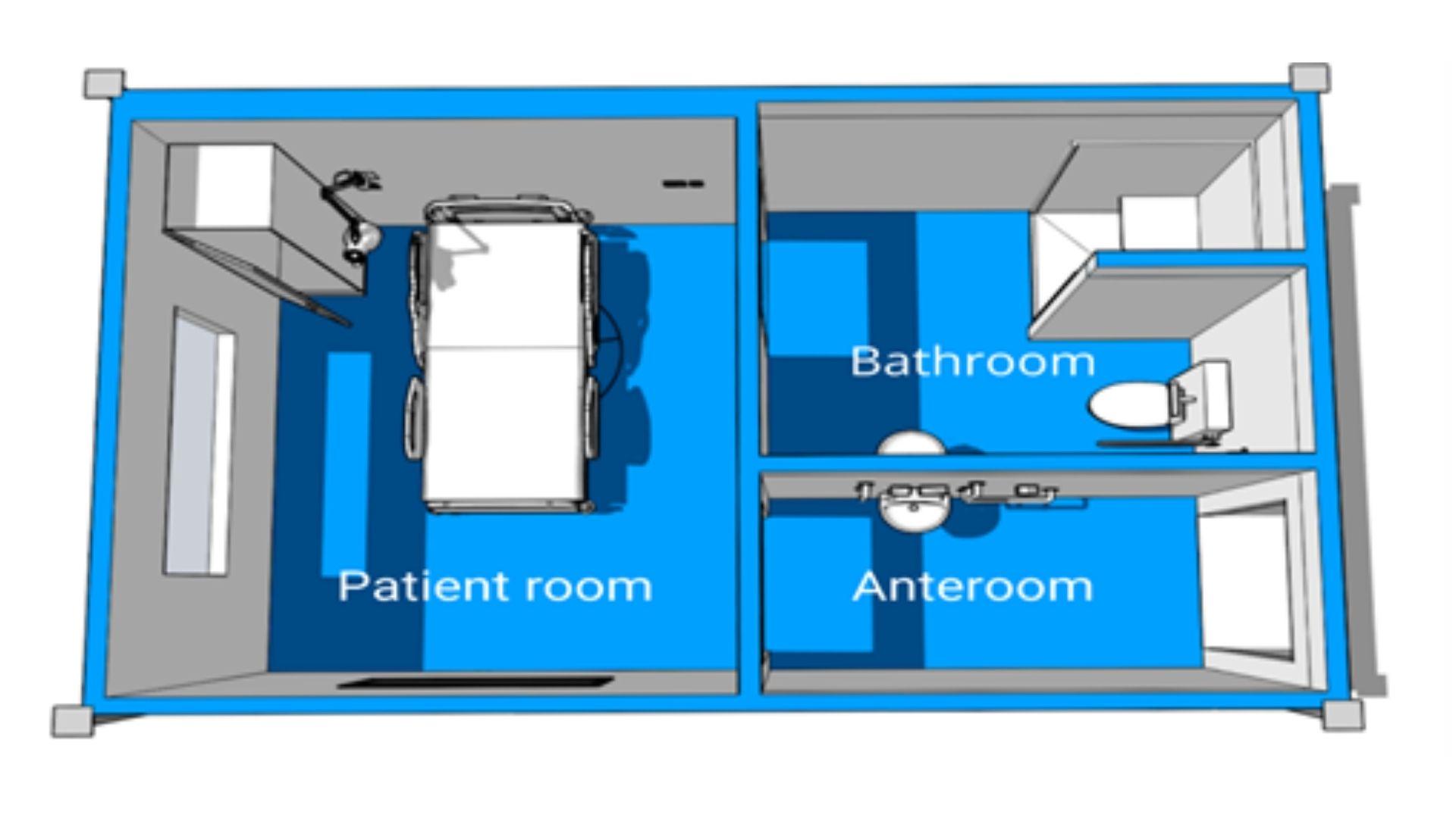 Prefab Hospital - Modular Hospital room