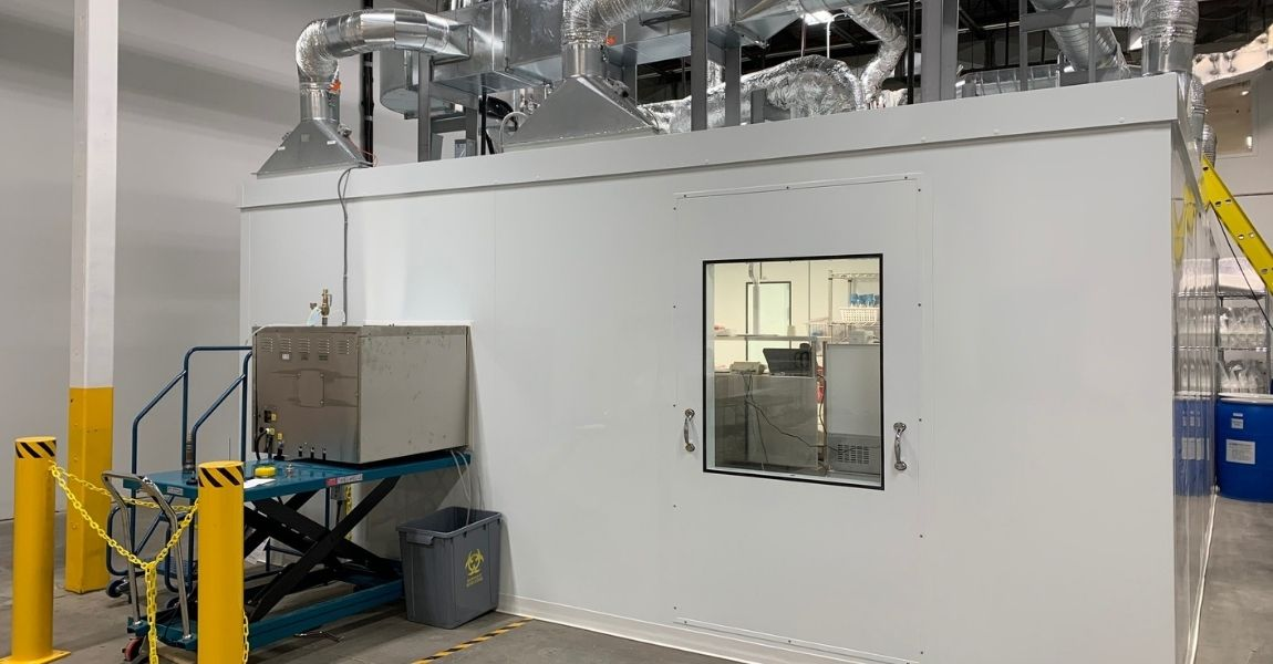 GMP Cell Banking Cleanroom