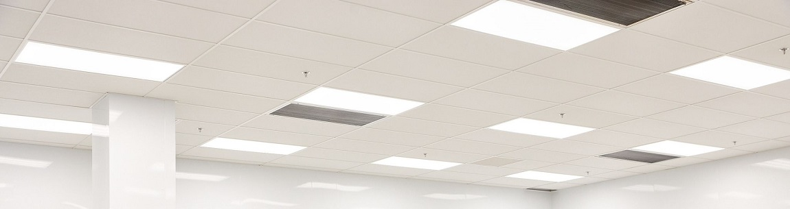 cleanroom ceiling system modular panels